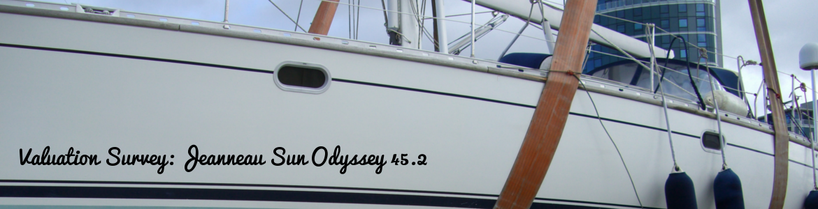 Valuation of a Jeanneau Sun Odyssey 45.2